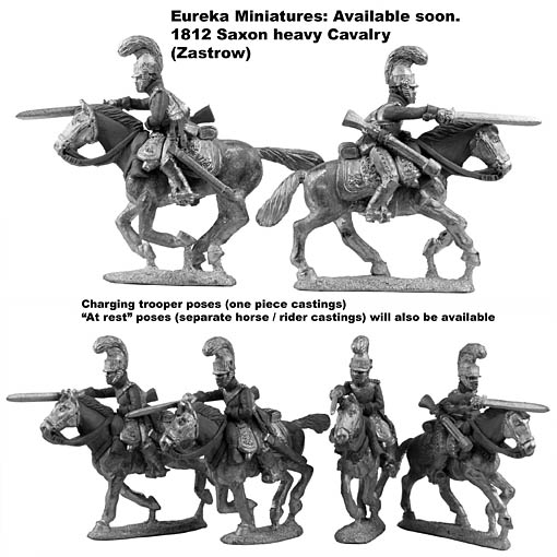 28mm 1812 Zastrow Cuirasiers