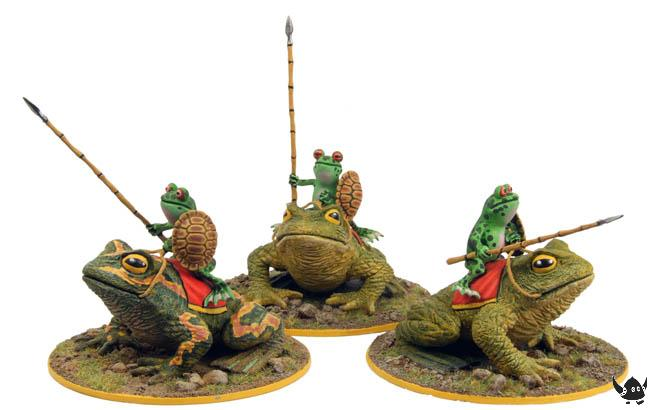 Warrior Frog Cavalry