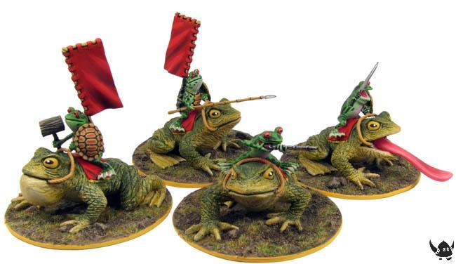 Warrior Frog Cavalry