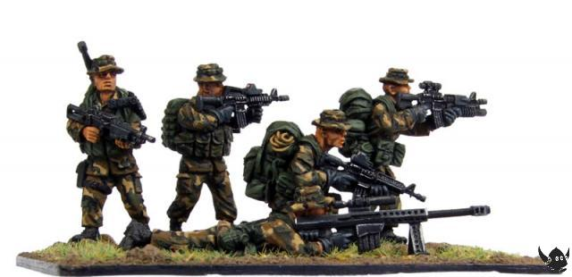 28mm USMC Force Recon