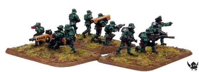 15mm Sci-Fi German Stormtroopers