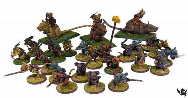 28mm Warrior Mice