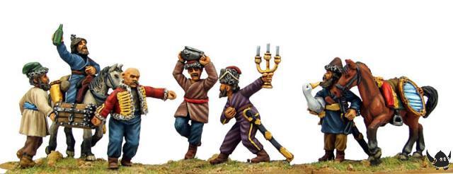 Cossacks Looting