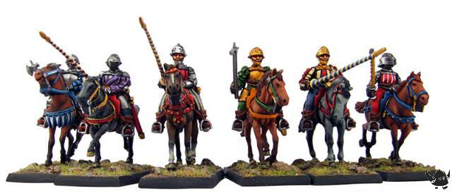 28mm Italian Wars Gendarme Archers