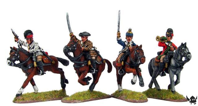 AWI Continental Dragoons