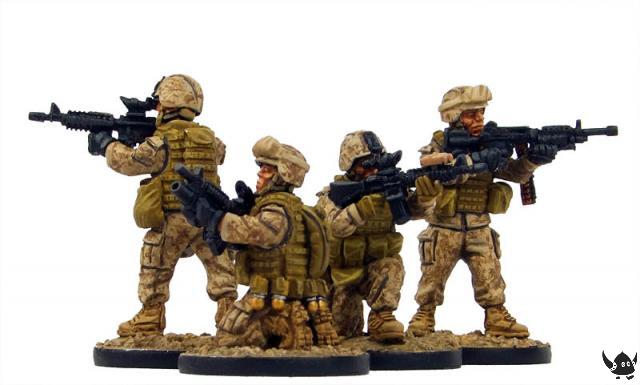 28mm Modern US Marines