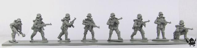 28mm Jurassic Reich German Infantry