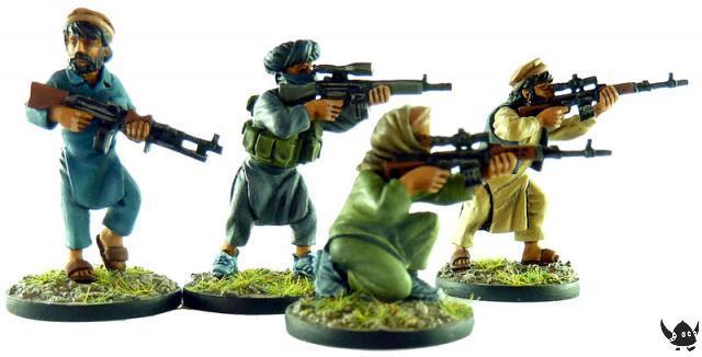 Afghan guerillas
