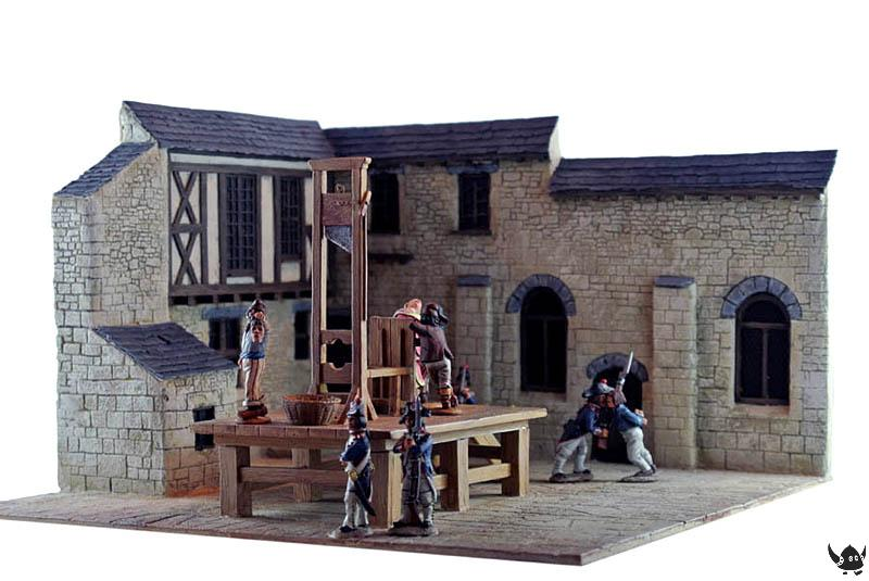 28mm Wars of the French Revolution Guillotine Set