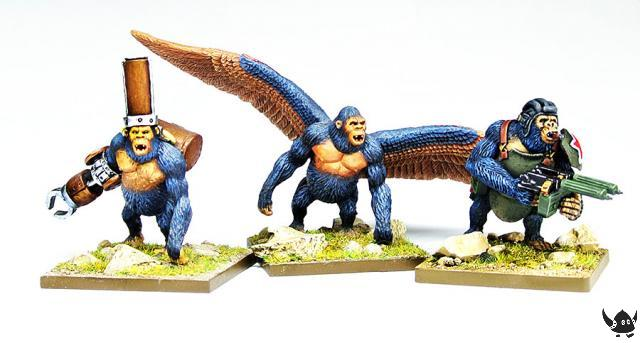 28mm Gorillas