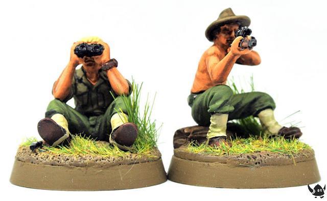 Australian sniper team