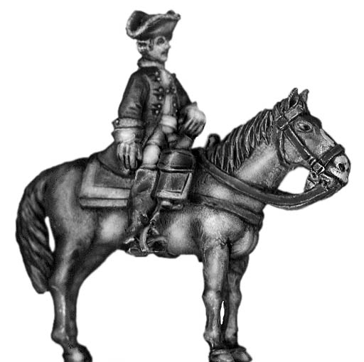 1756-63 Saxon mounted officer