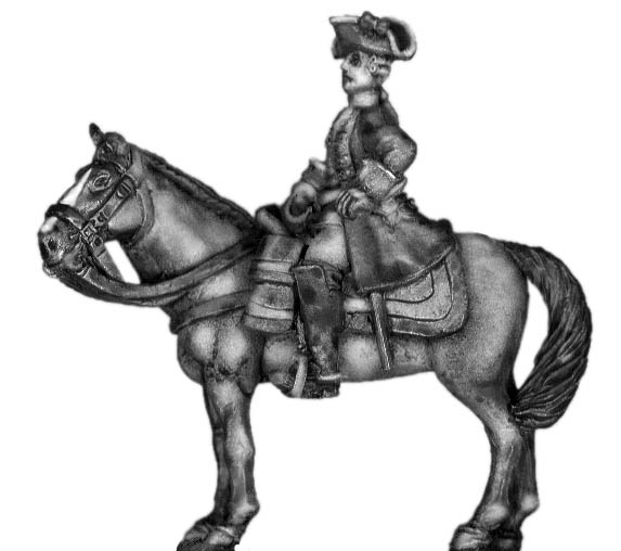 1756-63 Saxon mounted general
