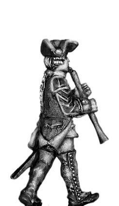 1756-63 Saxon Oboist, marching