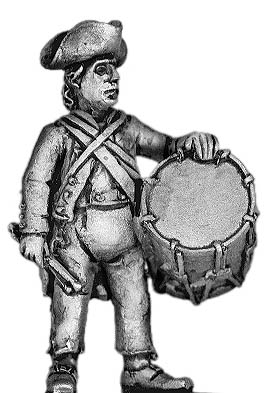 "AWI ""Ragged"" Continental Infantry Drummer"