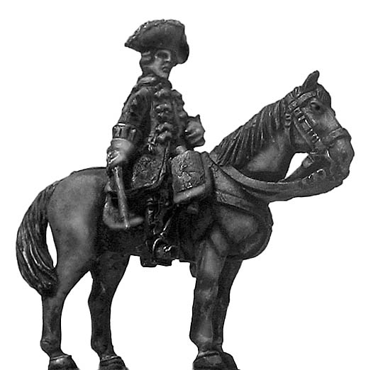 1756-63 Saxon Dragoon/Chevauleger officer