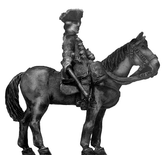 1756-63 Saxon Regiment Brühl officer