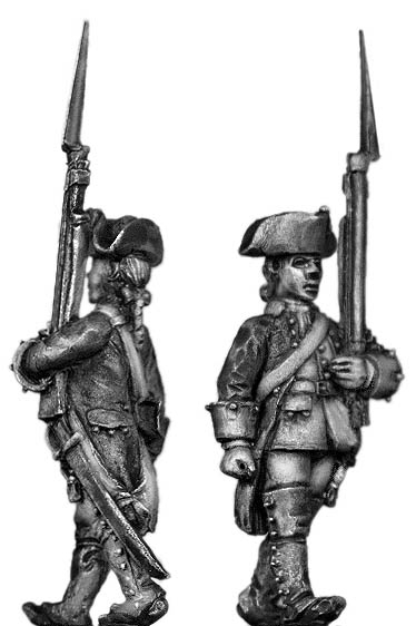 Dutch Musketeer, march-attack, coat with cuffs only