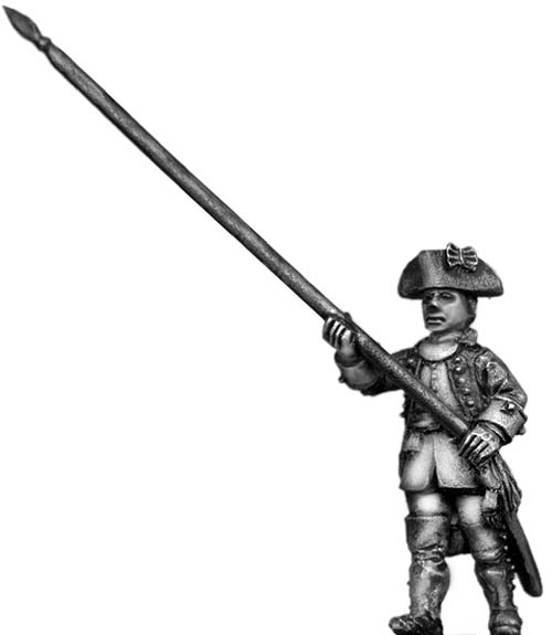 Dutch Standard Bearer, marching, coat with cuffs only
