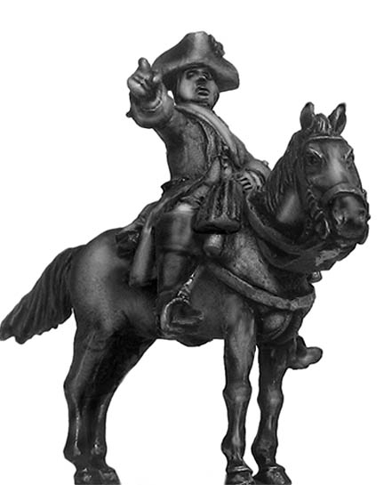 Dutch cavalry officer