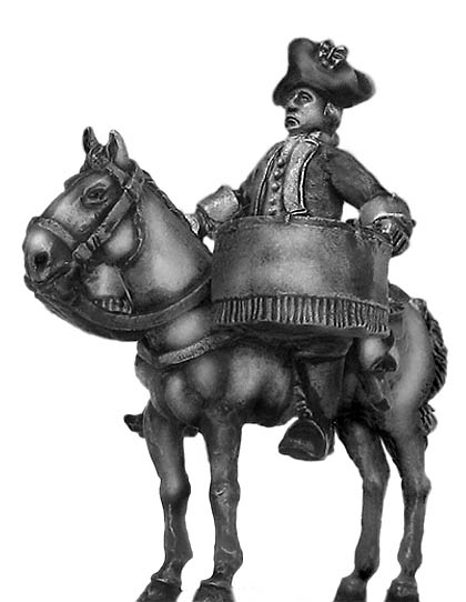 Dutch cavalry drummer