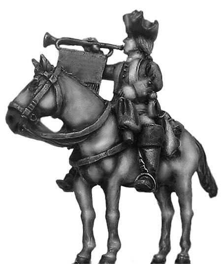 Dutch cavalry trumpeter