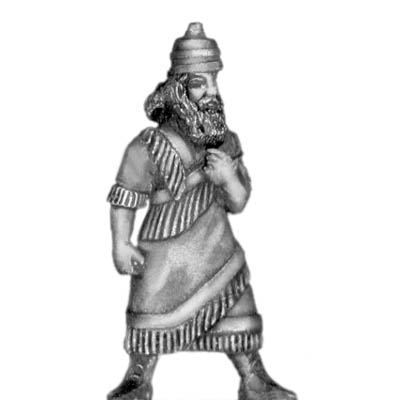 Assyrian King, on foot