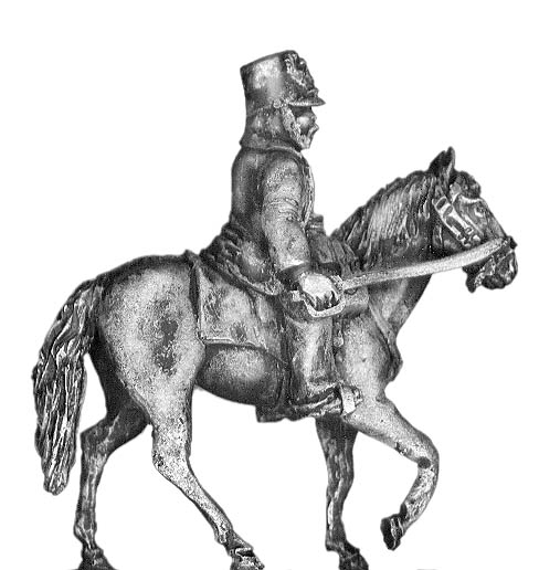 Austrian 1864-66 mounted officer
