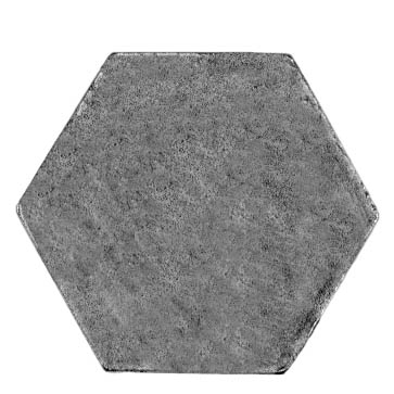 24mm (across flat) hexagon, plain