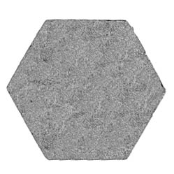 16.5mm (across flat) hexagon, plain