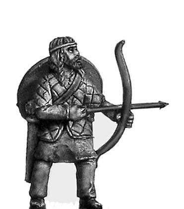Viking archer armoured