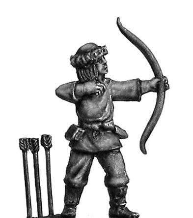 Viking archer unarmoured