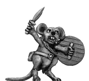 Warrior Mouse Chief Squeaker