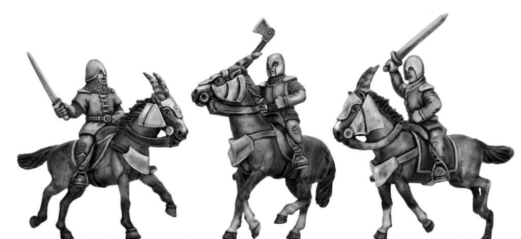 Kamarg Cavalry with hand weapons