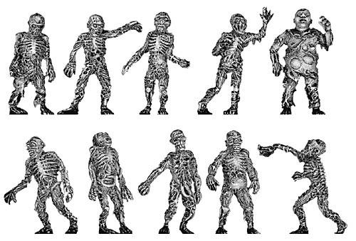 Pack of the Dead Zombie Set