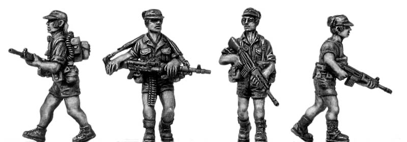 1970s Rhodesian Light Infantry Set 1