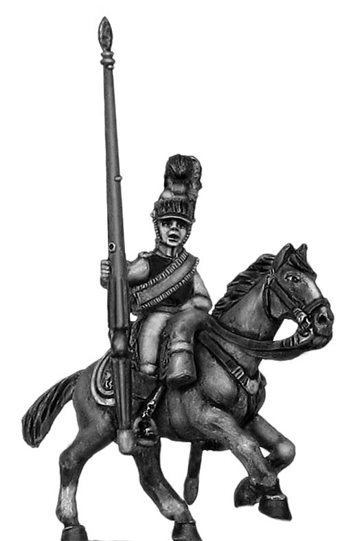 1812 K�rrassier-Regiment von Zastrow standard bearer