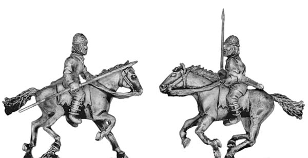 Pathlagonian cavalry, wicker helmet, spear/javelin