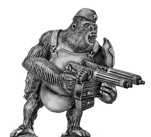 Soviet Gorilla with twin HMGs, side cap and body armour