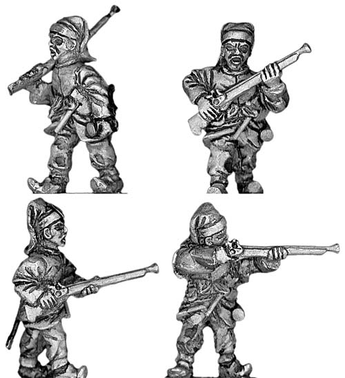 Janissary Infantry, with musket