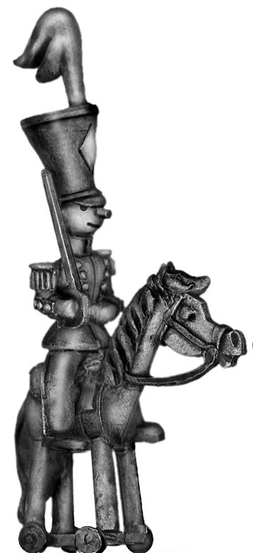 Toy Town Soldier Light Cavalry officer