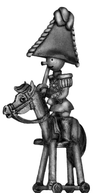 Toy Town Soldier General on horse