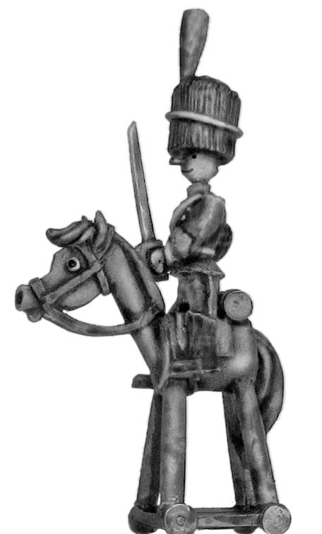 Toy Town Soldier Royal Horse Artillery Mounted Officer