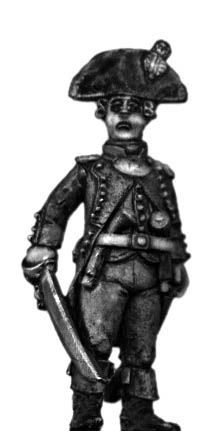 Foot artillery officer