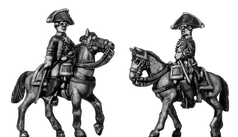 Russian mounted officer, coat - no lapels