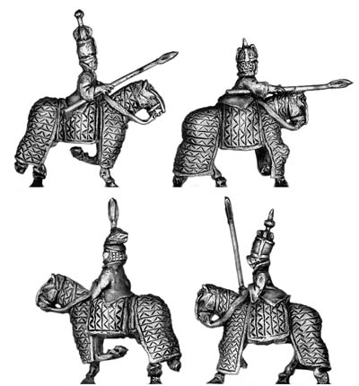 Abyssinian Barded Cavalry