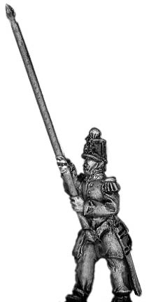 French Infantry Standard Bearer in shako