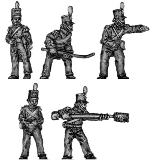British Foot Artillery Crew
