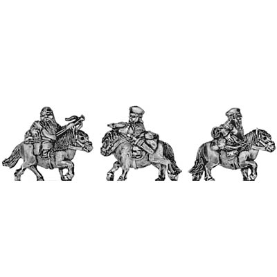 Dwarf cavalry, with crossbow