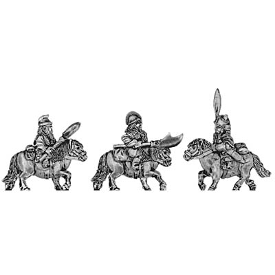 Dwarf cavalry, with spear